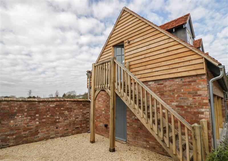 The setting at Coach House Mews, Alderminster