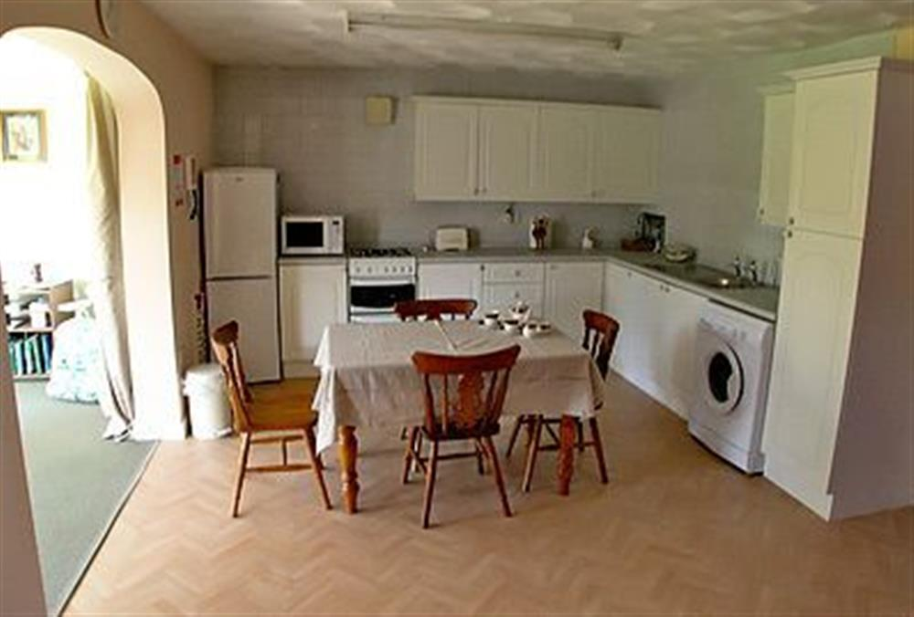 The kitchen at Coachmans Cottage in Bacton, Norwich, Norfolk., Great Britain