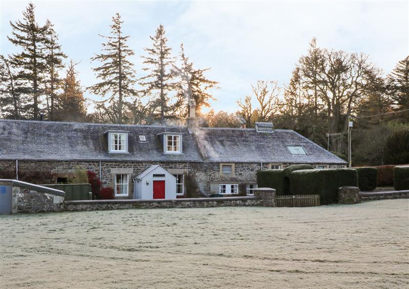 The setting at Coachmans Cottage, Peebles