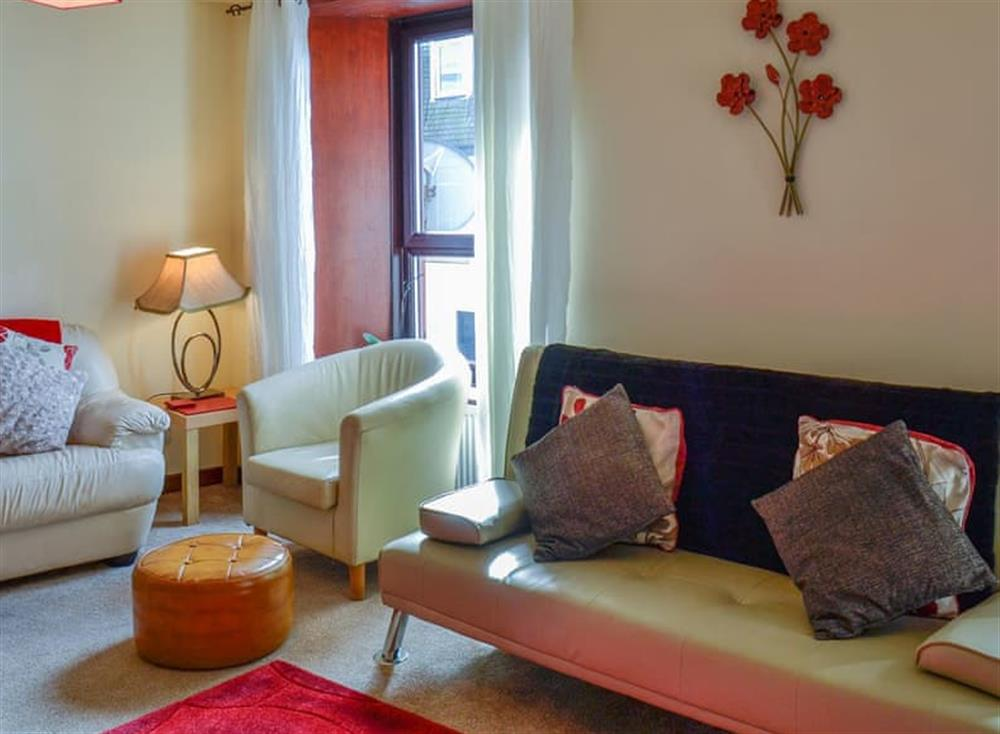 Living room at Coastal Retreat in Largs, Ayrshire