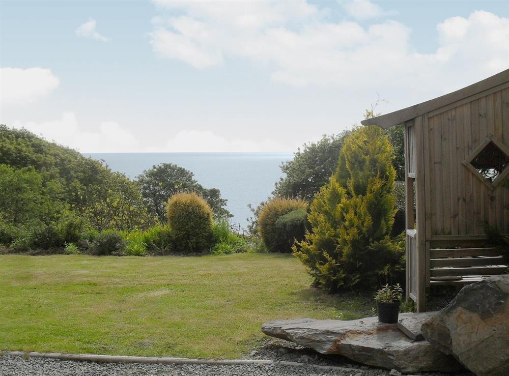 View at Coastal Retreat in Llanaber, near Barmouth, Gwynedd