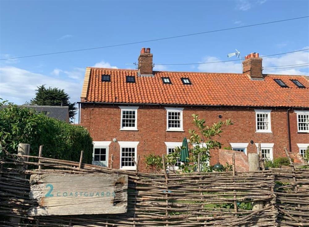 Outstanding holiday home at Coastguards Cottage in Burnham Overy Staithe, near Burnham Market, Norfolk