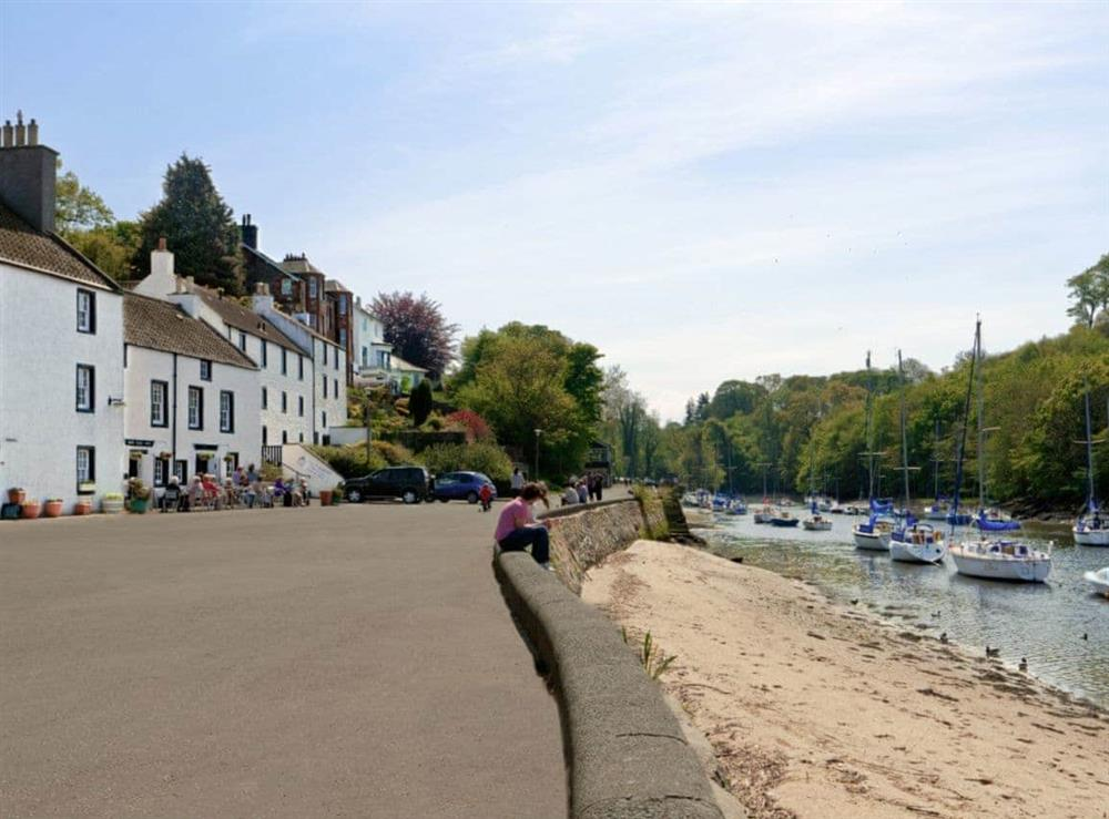 Exterior at Cobble Cottage in Cramond Village, Edinburgh, Midlothian