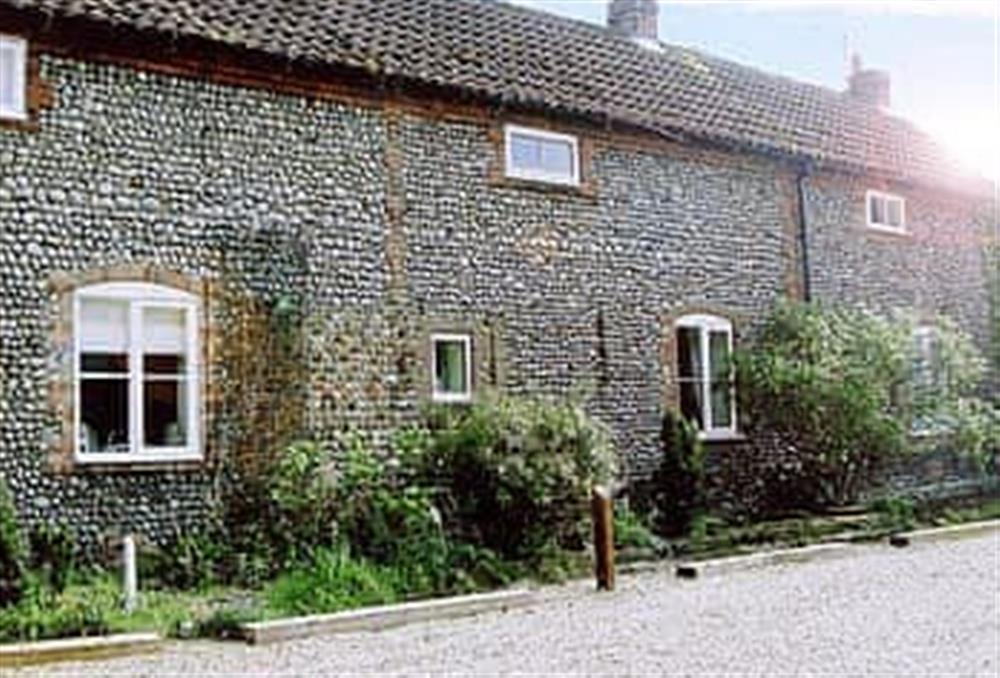 Exterior at Cobble Stones in Holt, Norfolk., Great Britain