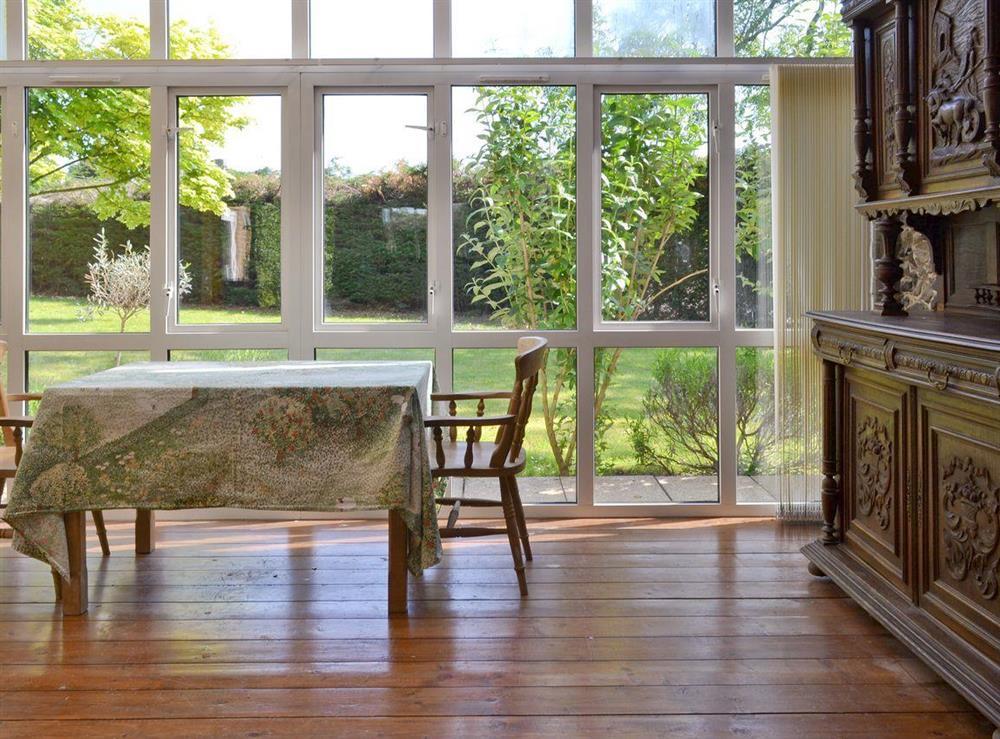 Great views over the garden at Cobden House in Lakenheath, near Brandon, Suffolk