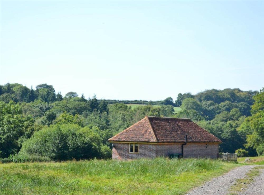 Exterior at Coblye Barn in Battle, E. Sussex., East Sussex