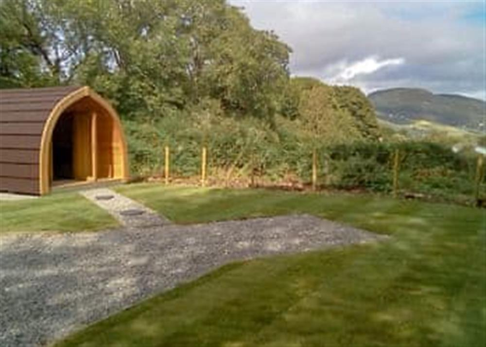 Exterior at Coiltie Glampod in Drumnadrochit, Highlands, Inverness-Shire