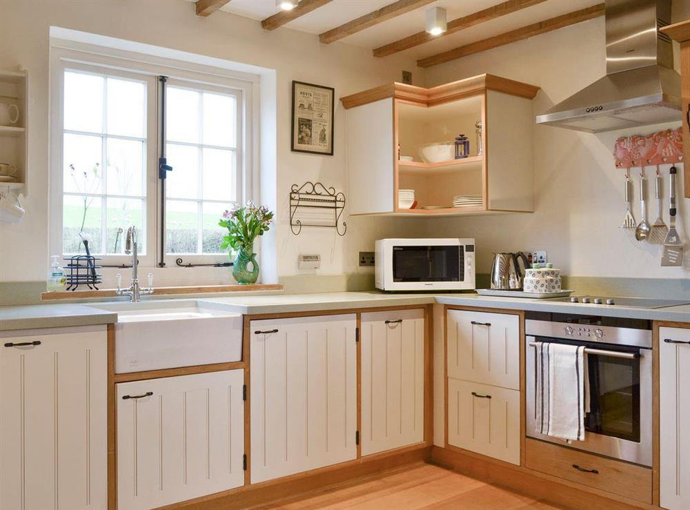 Well-equipped fitted kitchen at Field House,