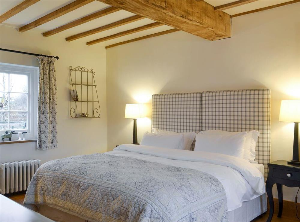 Comfortable ground floor double bedroom at The Dairy,