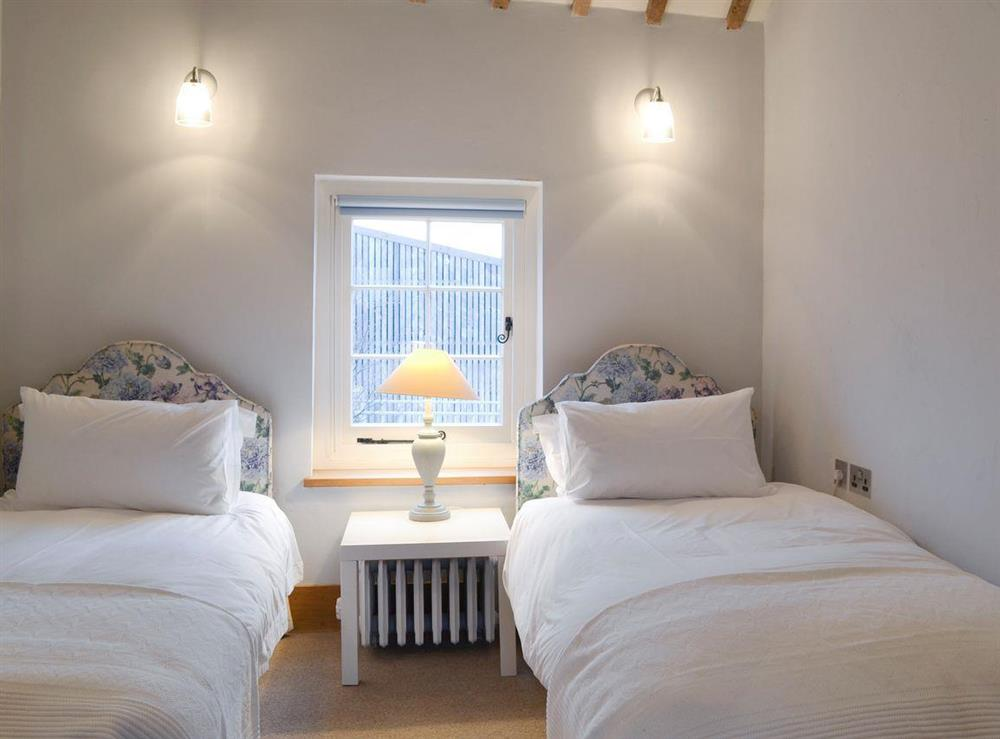 Good-sized twin bedroom at The Dairy,