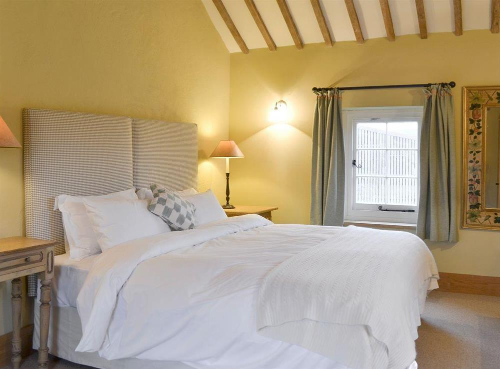 Restful first floor double bedroom at The Dairy,