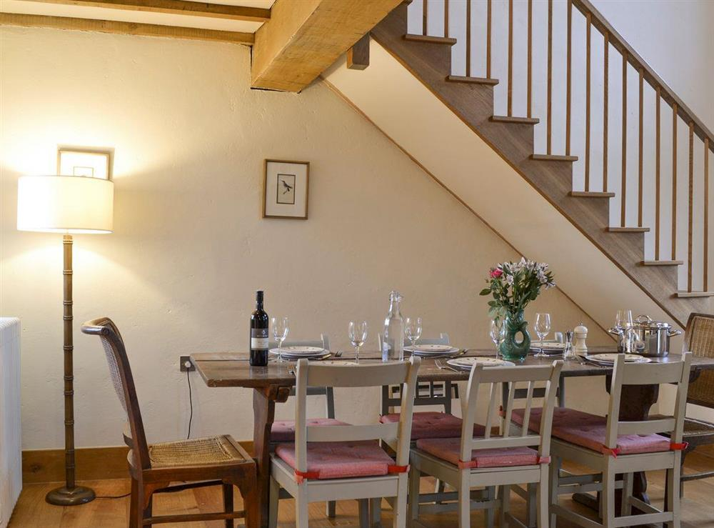 Stylish dining area at The Dairy,