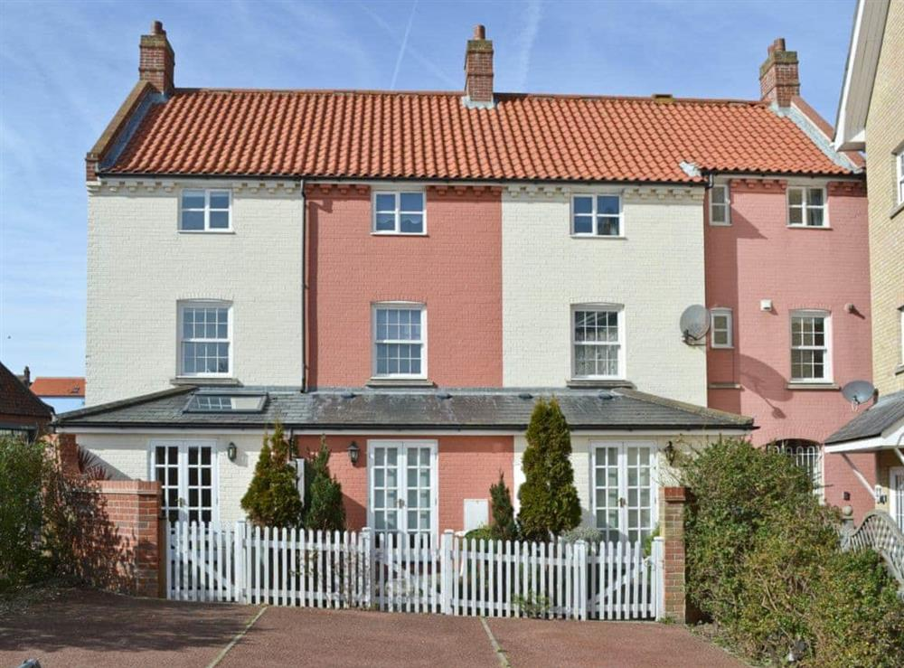 Exterior at Commodore Cottage in Cromer, Norfolk