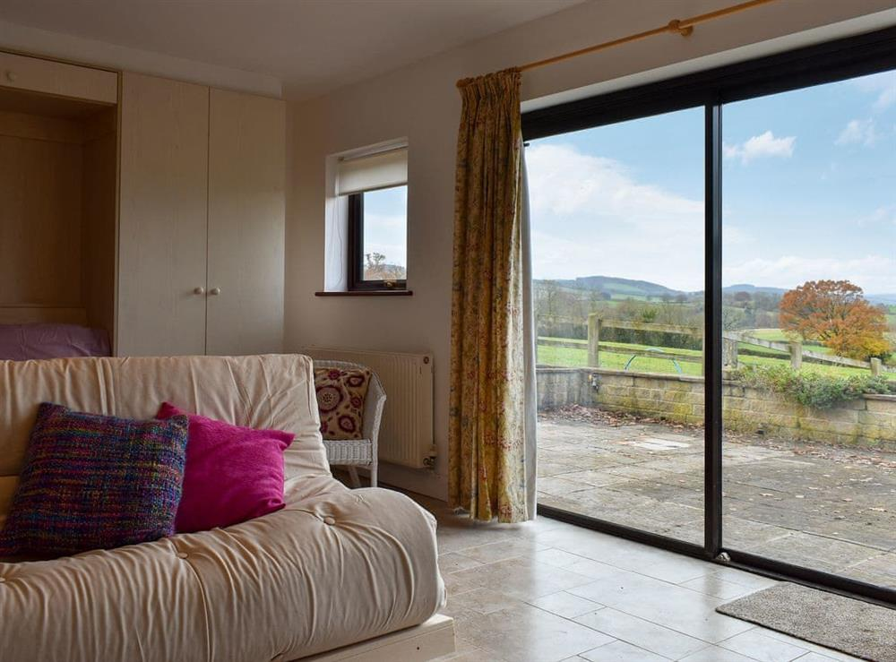 Picture perfect views by the large doors at Hideaway,