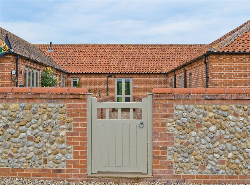 Exterior at Cooks Farm Barn No 5 in Suffield, near North Walsham, Norfolk