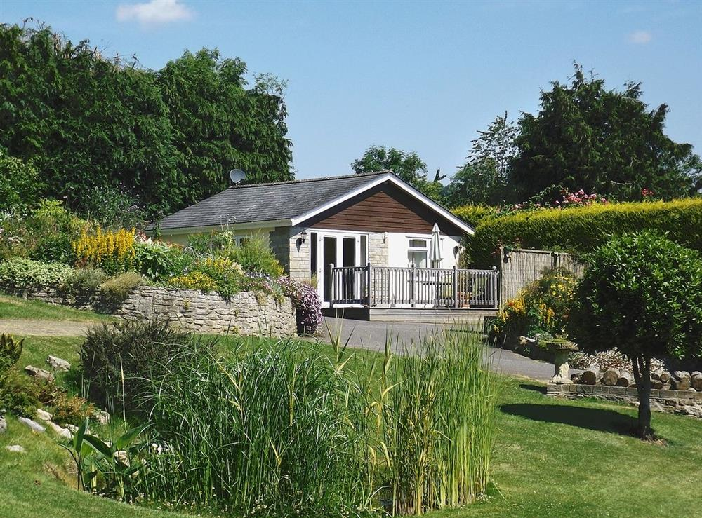 Exterior at Coombehayes Lodge in Uplyme, near Lyme Regis, Dorset