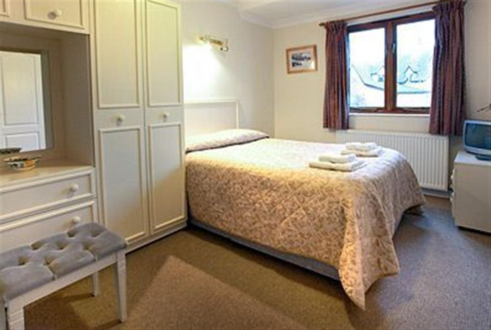 Bedroom at Coot in Wroxham, Norfolk., Great Britain