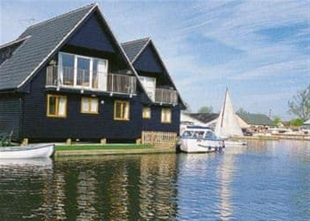 Exterior at Coot in Wroxham, Norfolk., Great Britain