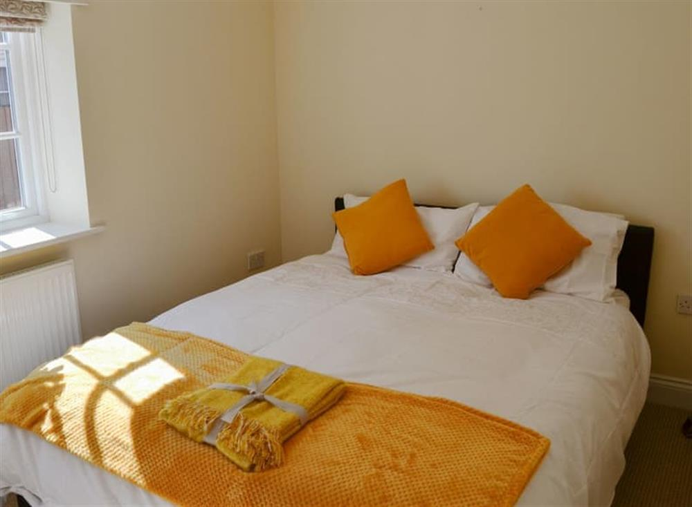 Comfy double bedroom at Coots Nest in Stalham Staithe, near Norwich, Derbyshire