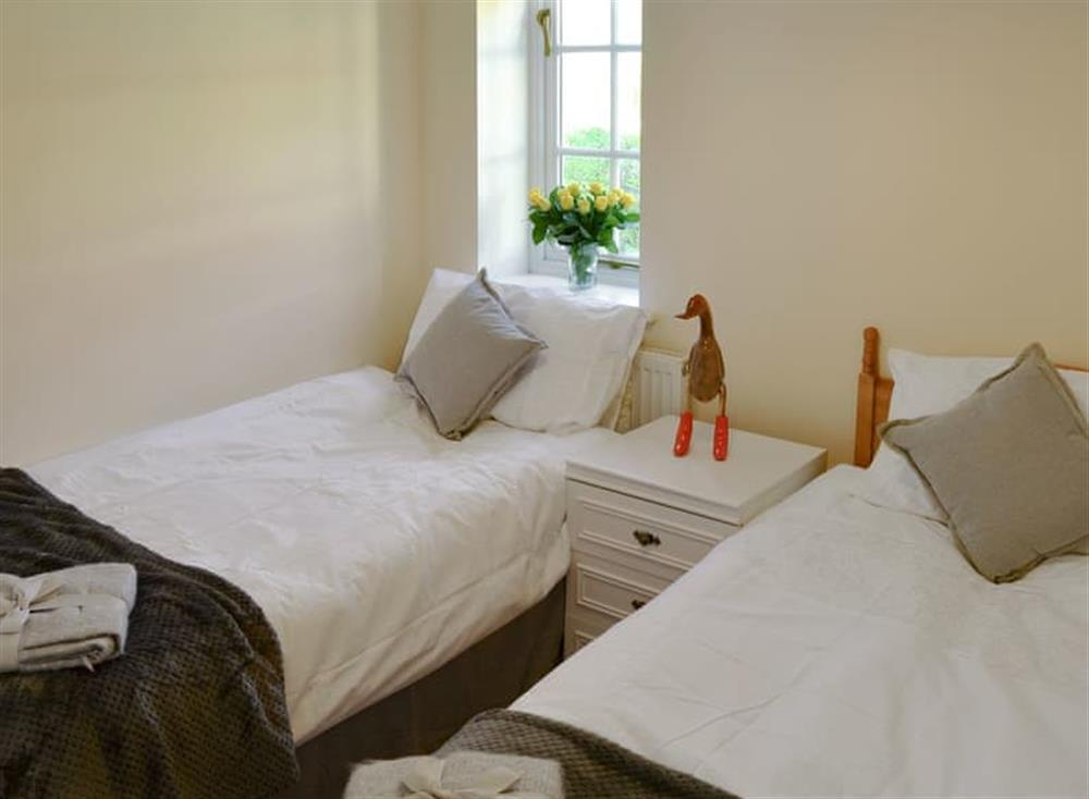 Twin bedroom at Coots Nest in Stalham Staithe, near Norwich, Derbyshire