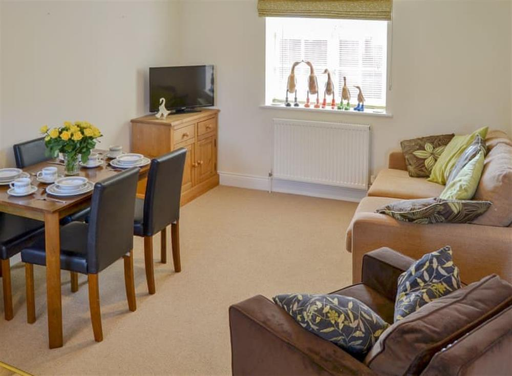 Well presented open plan living space at Coots Nest in Stalham Staithe, near Norwich, Derbyshire