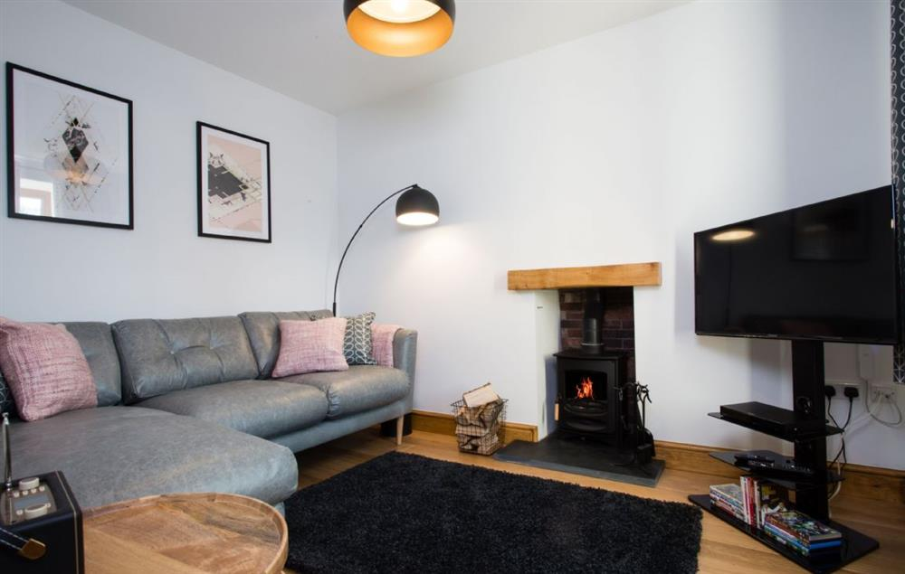 Ground floor: Cosy snug with wood burning stove