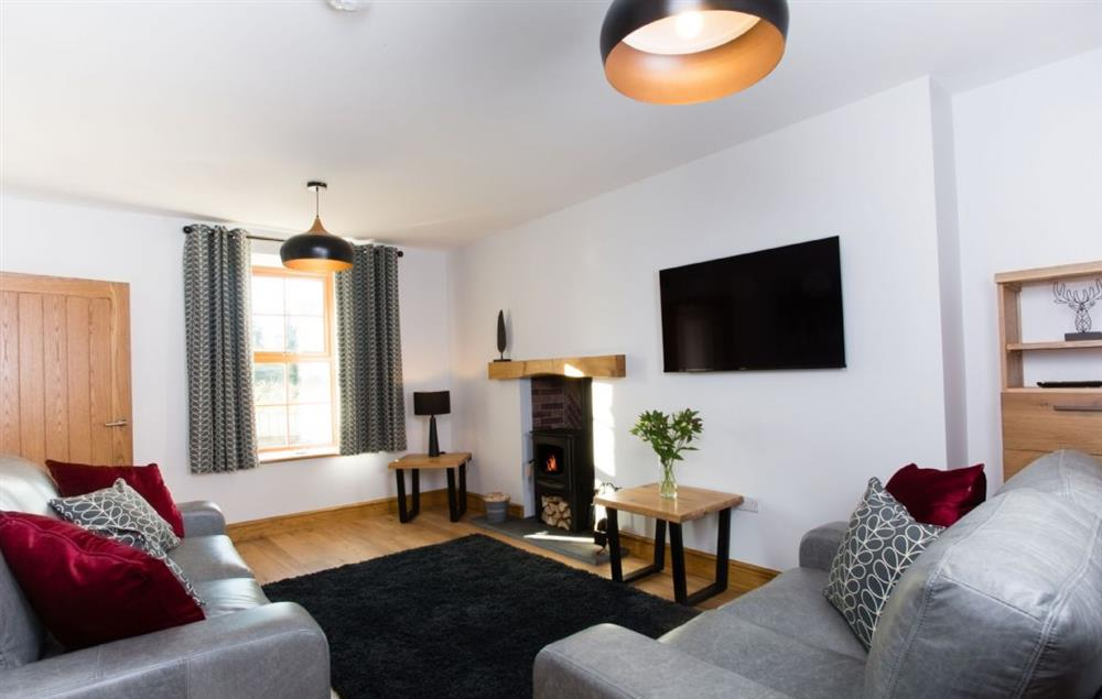 Ground floor: Sitting room  with Freeview television