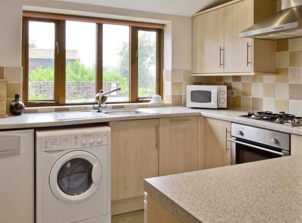 Kitchen at Coriander in Great Yarmouth, Norfolk