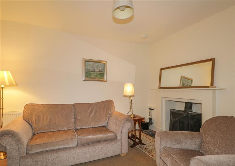 The living area at Cormack Lodge, Forres