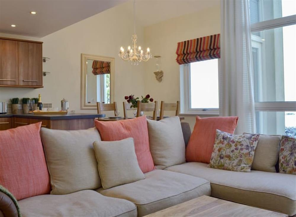 Stunning open plan living space at Corn Meadow in Near Kirkby Lonsdale, Lancashire