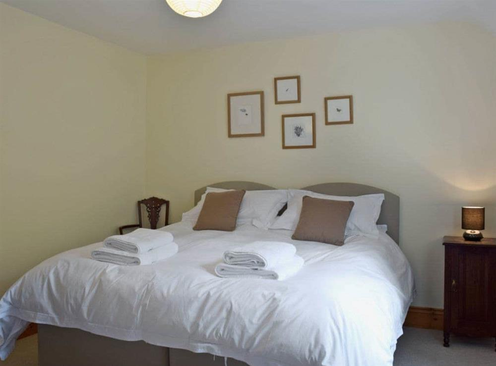 Comfortable double bedroom at Cornant in Llechryd, near Cardigan, Dyfed