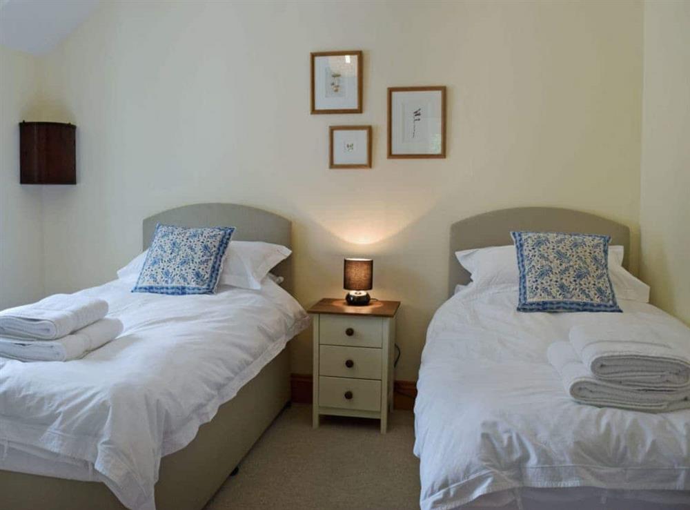 Cosy twin bedroom at Cornant in Llechryd, near Cardigan, Dyfed