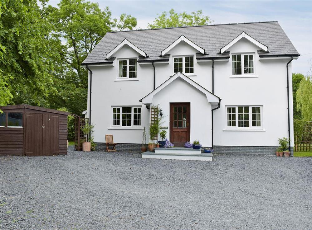 Delightful, detached property at Cornant in Llechryd, near Cardigan, Dyfed