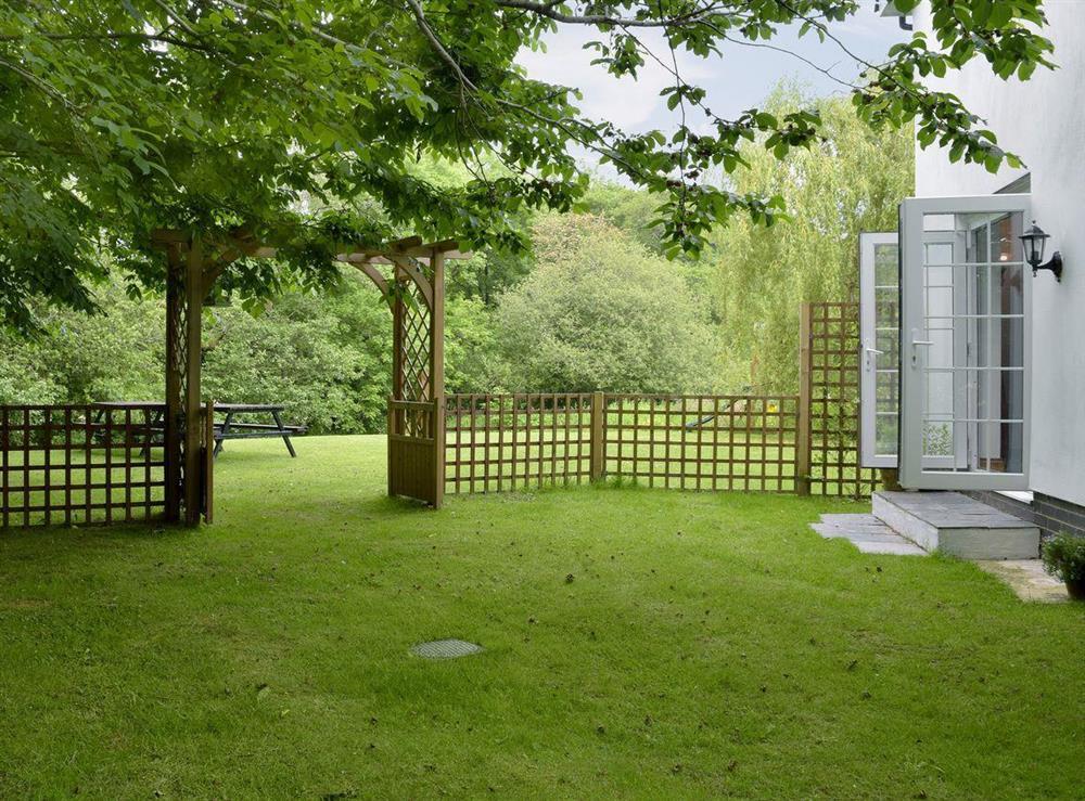 Large open gardens (photo 2) at Cornant in Llechryd, near Cardigan, Dyfed