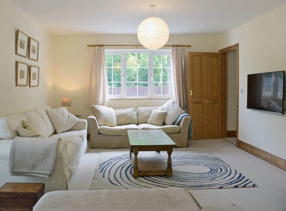 Spacious living room at Cornant in Llechryd, near Cardigan, Dyfed