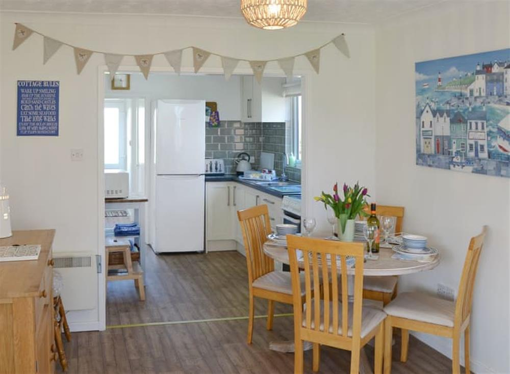 Charming dining area at Cottage By The Sea in Bacton, near North Walsham, Norfolk