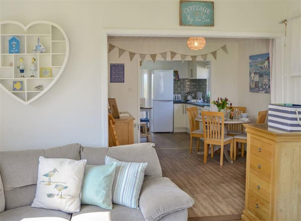 Comfortable living area at Cottage By The Sea in Bacton, near North Walsham, Norfolk