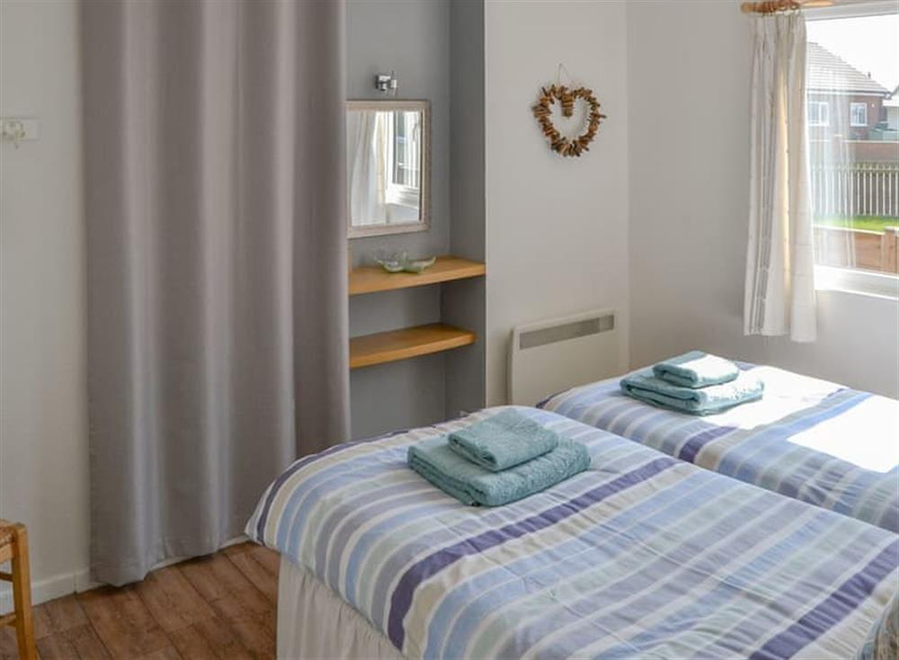 Comfy twin bedroom (photo 2) at Cottage By The Sea in Bacton, near North Walsham, Norfolk