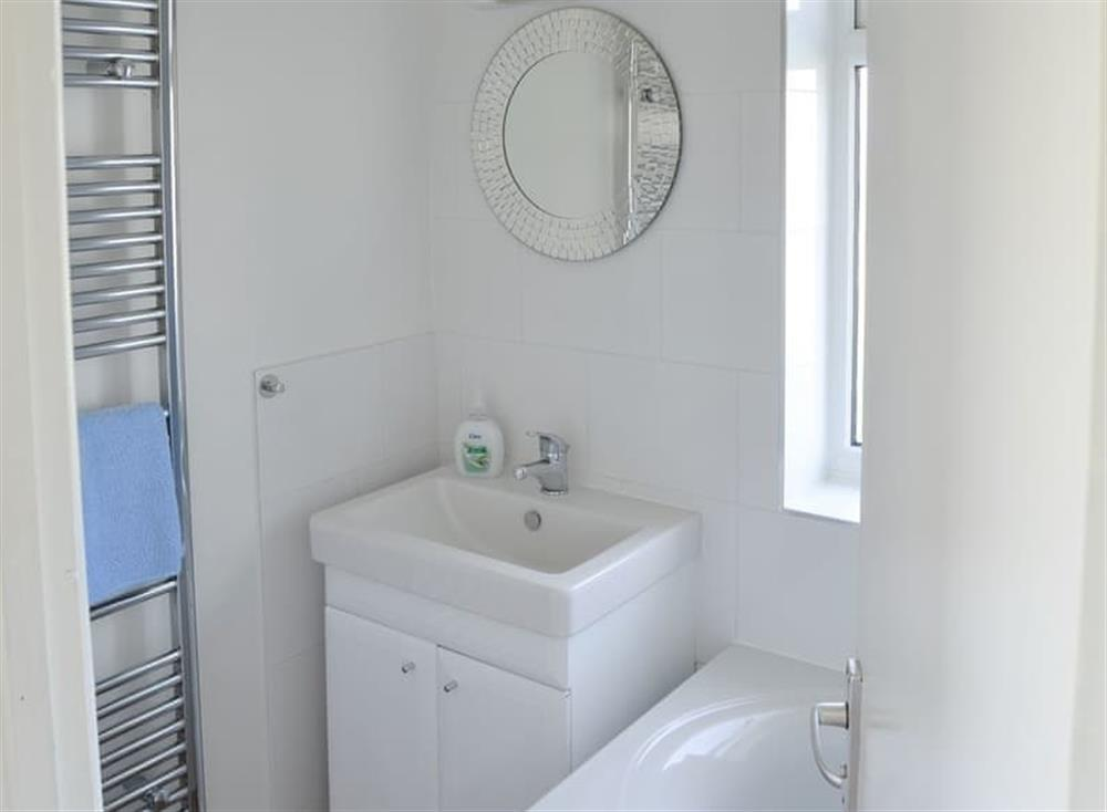 Shower room at Cottage By The Sea in Bacton, near North Walsham, Norfolk