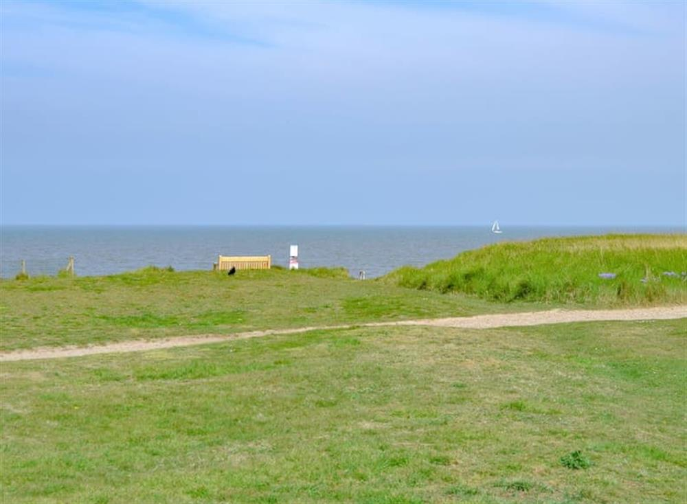 Surrounding coastline at Cottage By The Sea in Bacton, near North Walsham, Norfolk