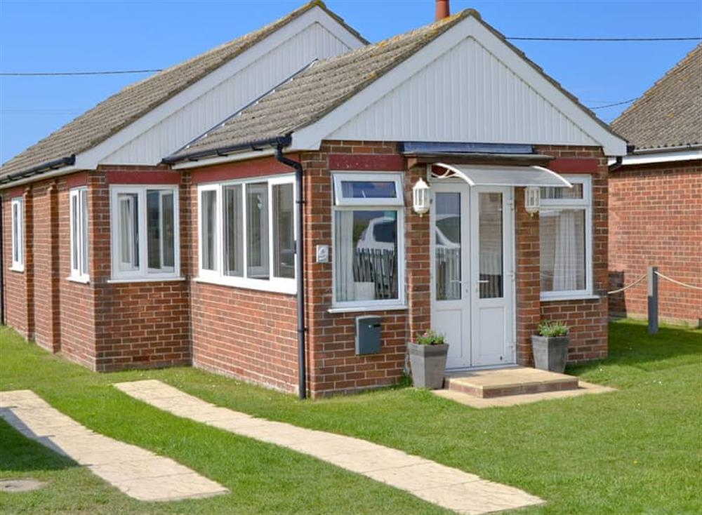 Wonderful holiday home at Cottage By The Sea in Bacton, near North Walsham, Norfolk