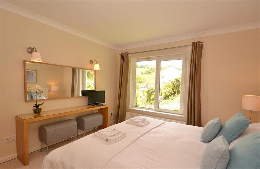 Another angle of the double bedroom at Cotterbury, Dartmouth