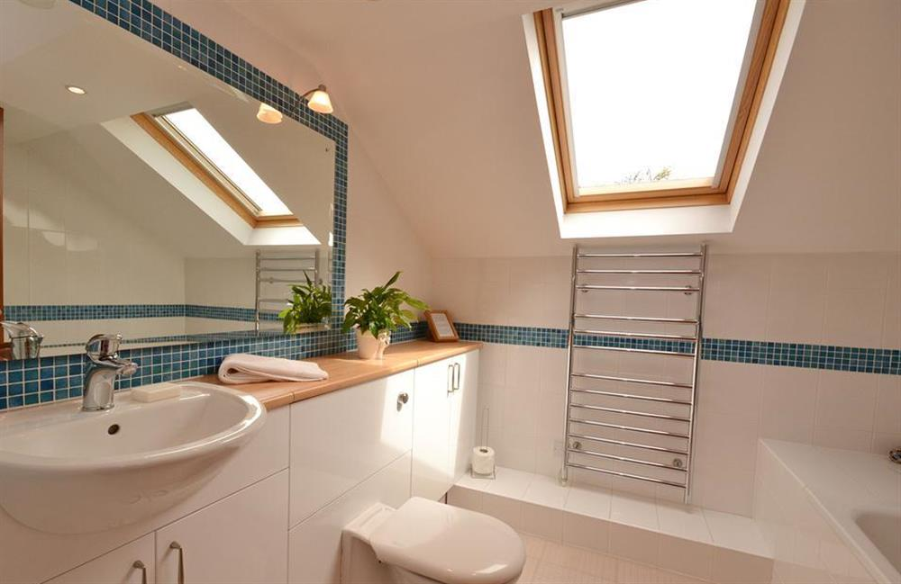 One of the bathrooms at Cotterbury, Dartmouth