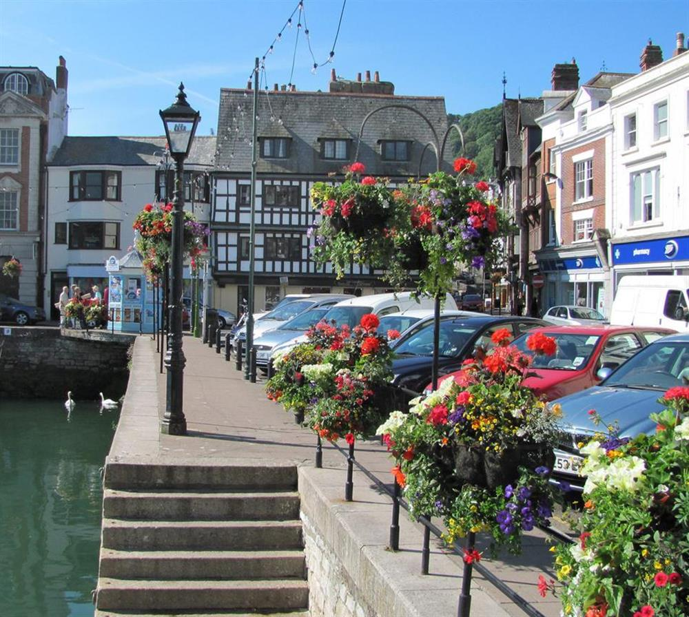 Summer in Dartmouth town at Cotterbury, Dartmouth