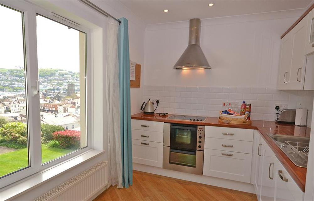 The well equipped kitchen area at Cotterbury, Dartmouth