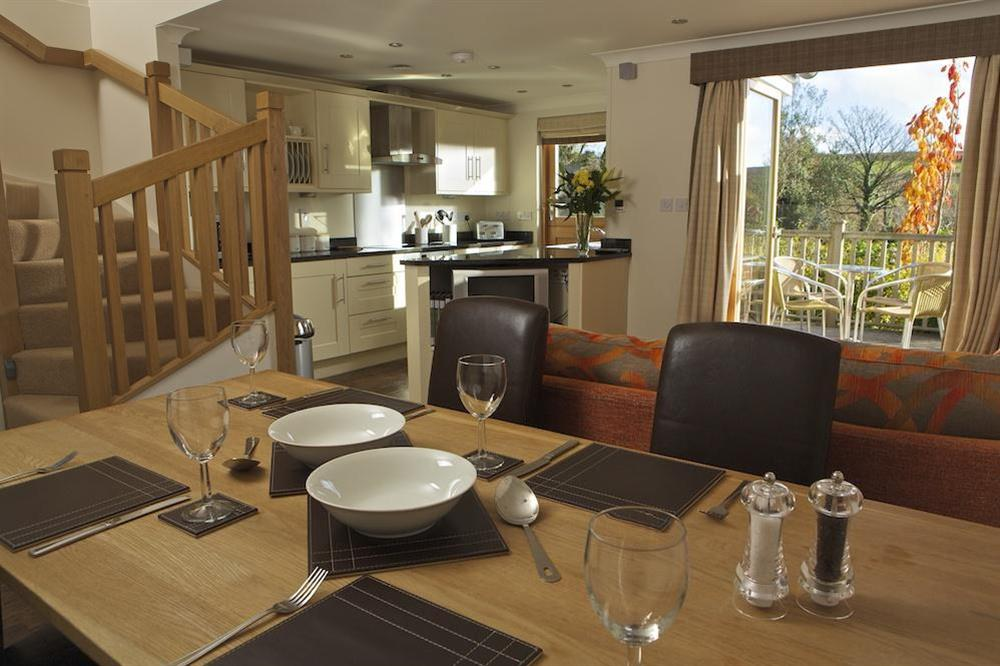 Dining/Lounge/Kitchen Area at Court Cottages 1 in Hillfield, Dartmouth