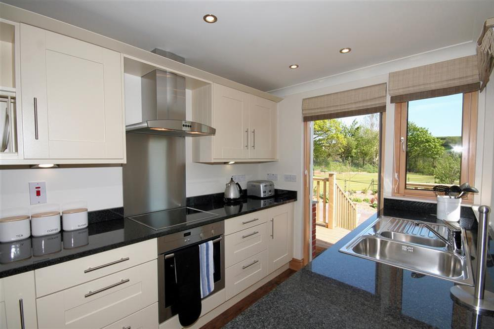 Kitchen Area at Court Cottages 1 in Hillfield, Dartmouth