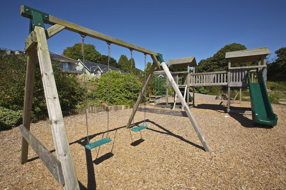 Children's play area (photo 2) at Court Cottages 3 in Hillfield, Dartmouth