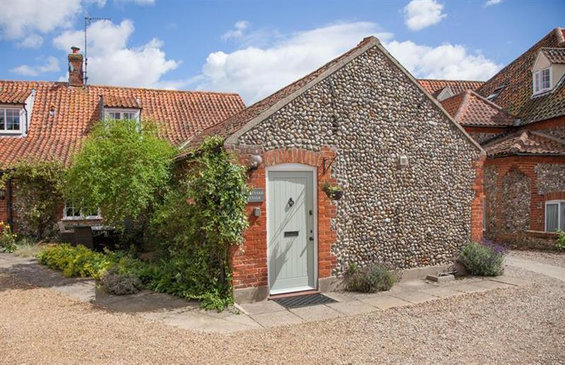 Outside Courtyard Cottage at Courtyard Cottage, Binham near Holt, Norfolk