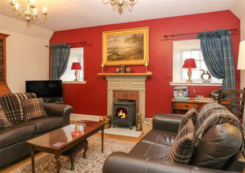 The living area at Courtyard Cottage, Drumoak near Peterculter